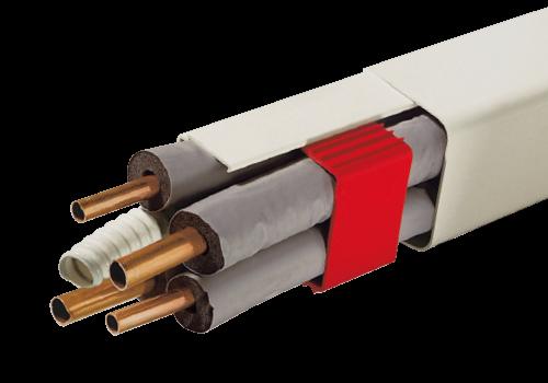 KANAL 0812 BCF-W-Kanal aus Hart-PVC - 80x60mm - Länge: 2m