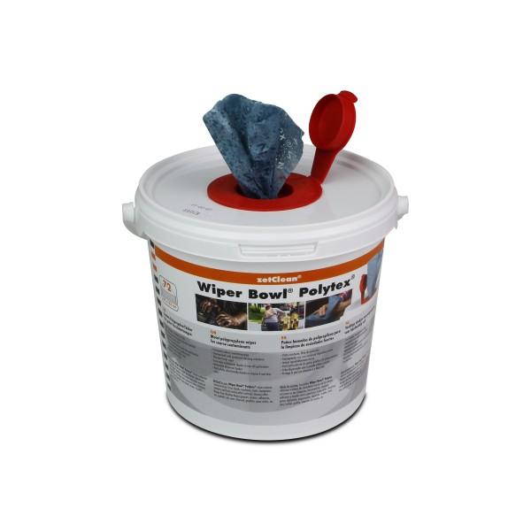 Wiper Bowl Polytex feuchte Reinigungstücher